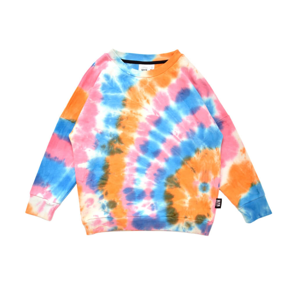 multicolor kids sweater