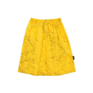 yellow kids skirt