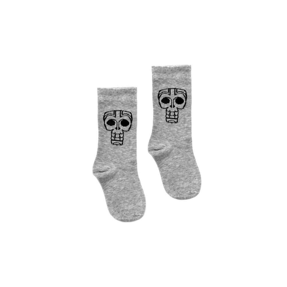 grey kids socks