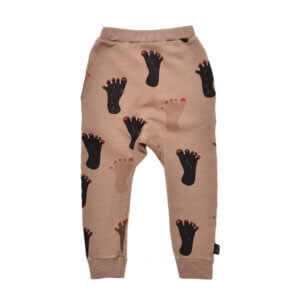 brown kids pants