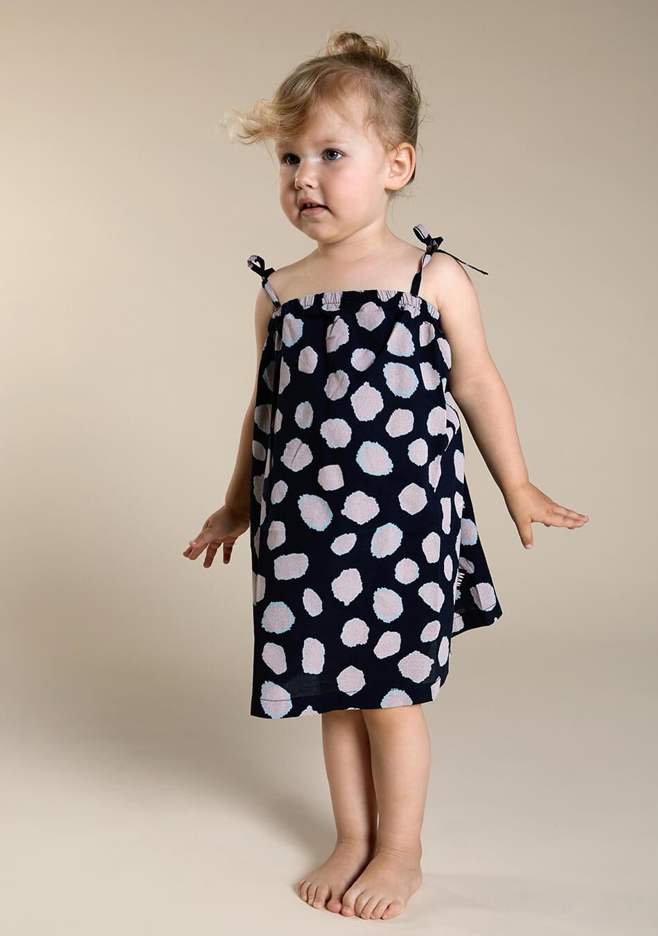 woven kids dress