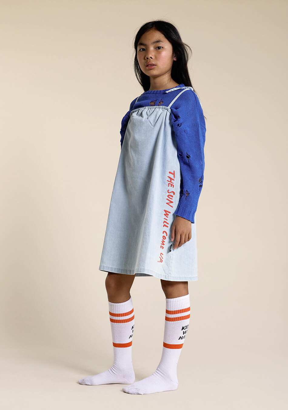 denim kids dress
