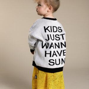 knit kids sweater yellow kids skirt