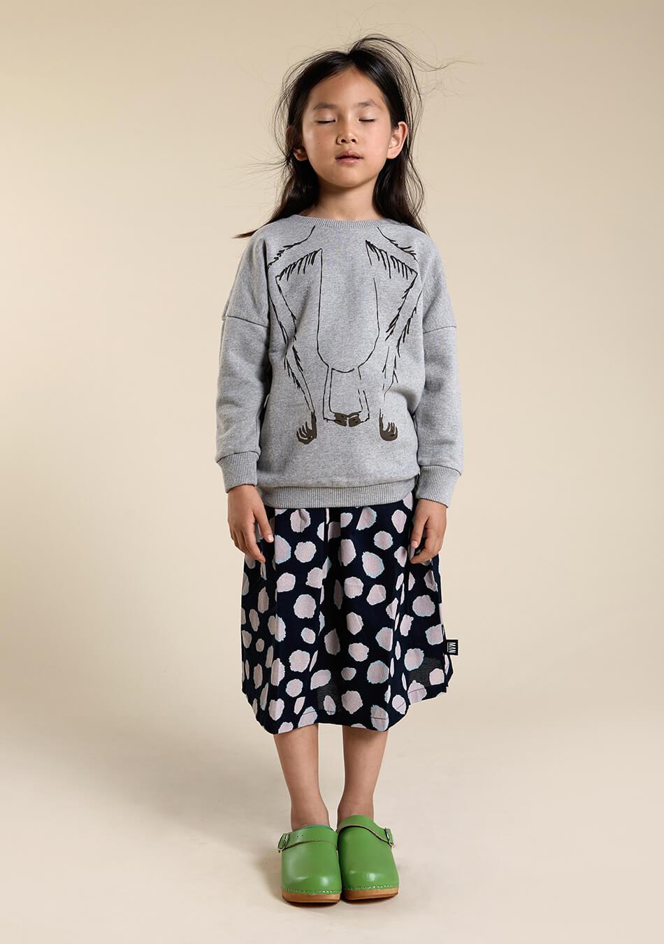 woven kids skirt