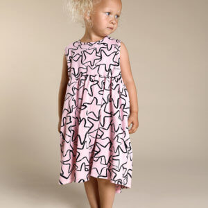 pink girls dress