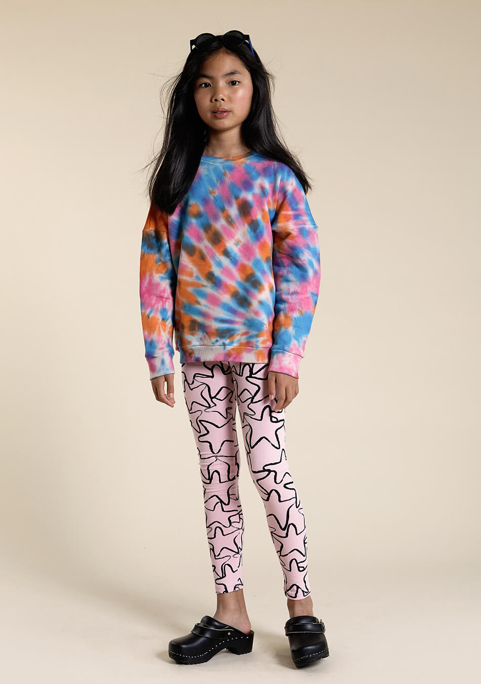 multicolor kids sweater cool kids leggings