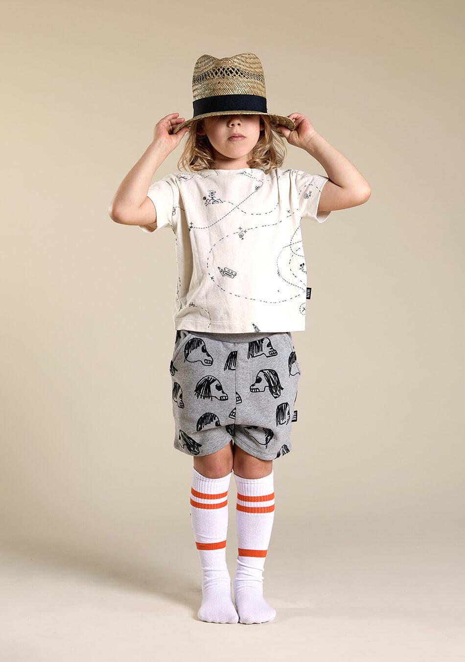 grey bermuda shorts white kids socks