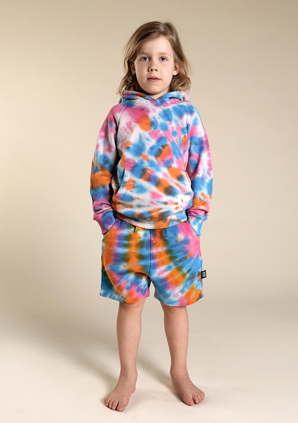multicolor kids shorts