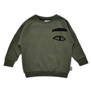 green kids sweater