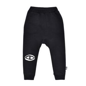 black organic pants
