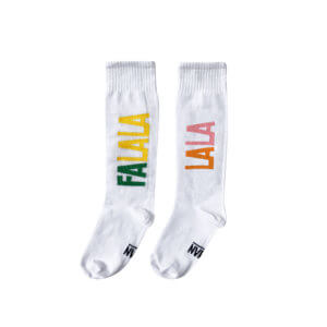white tennis socks