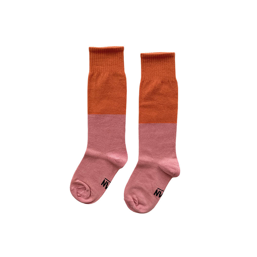 FLAMINGO knee socks