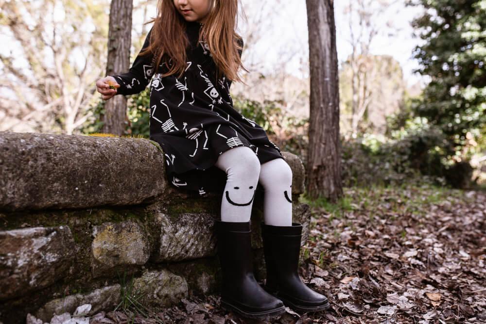 skeleton dress for kids mood