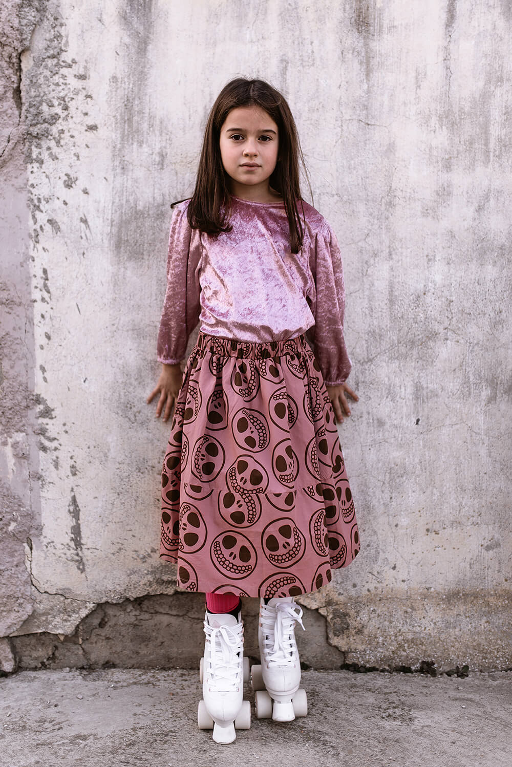 rose party blouse for kids mood