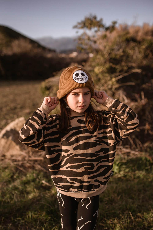 tiger kids sweater mood