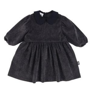 grey corduroy dress for kids