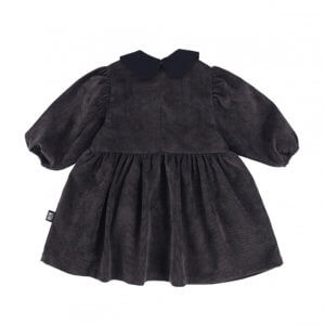 grey corduroy dress for kids back