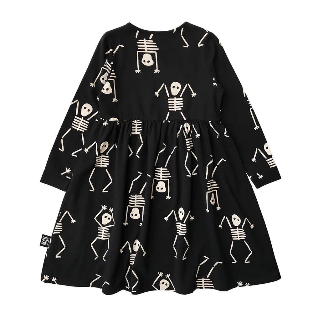 skeleton dress for kids back
