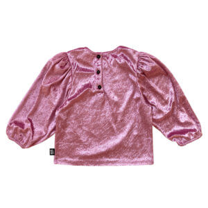 rose party blouse for kids back