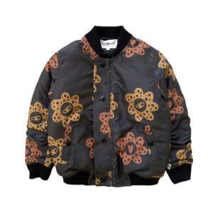 flower bomber jacket for kids