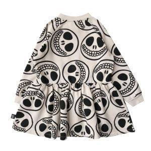 happy skull dress back