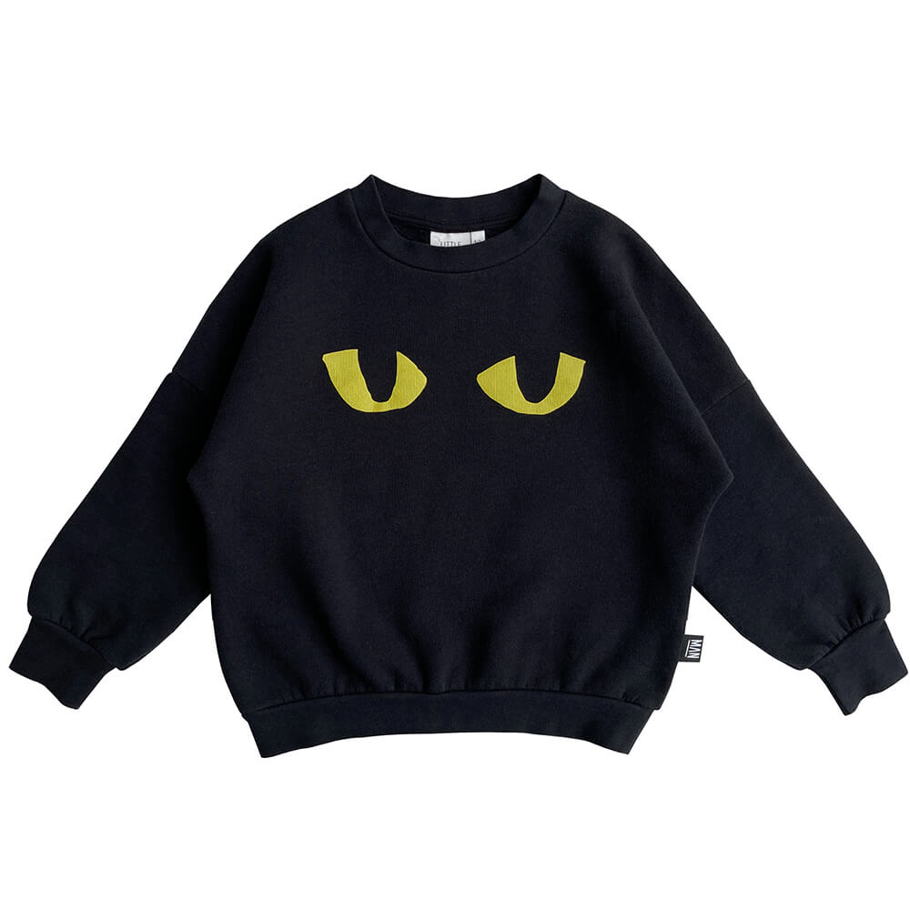 cat eye kids sweater