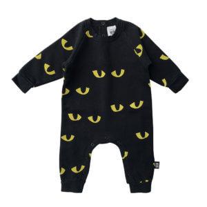 cat eye baby jumpsuit