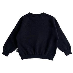 cat eye kids sweater back