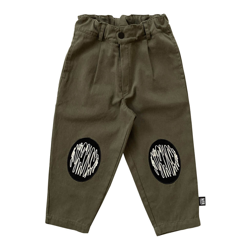 olive chino pants for kids