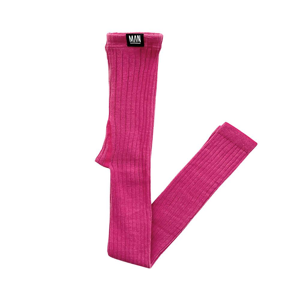 pink rib leggings for kids