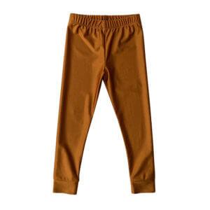 gold shiny leggings for kids