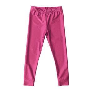 pink shiny leggings for kids