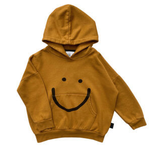 smile hoodie for kids front