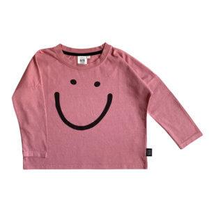 rose garment dyed longsleeve for kids