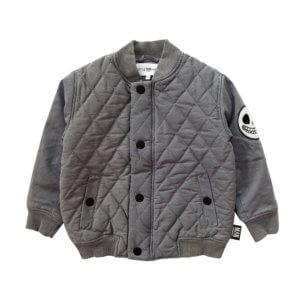 stonewashed bomber jacket for kids