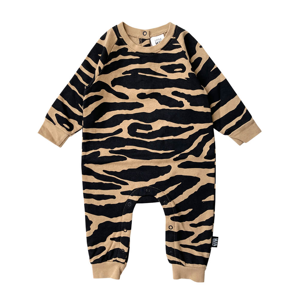 tiger baby jumpsuit