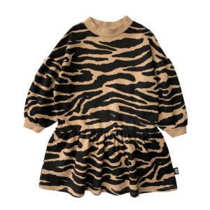 tiger girls dress