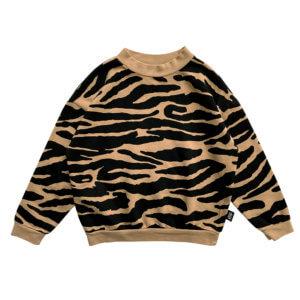 tiger kids sweater
