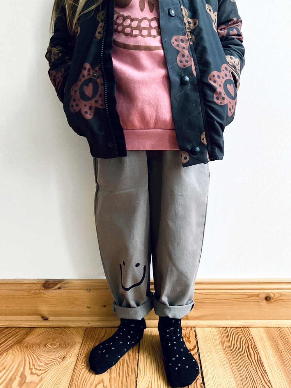 grey chino pants for kids studio