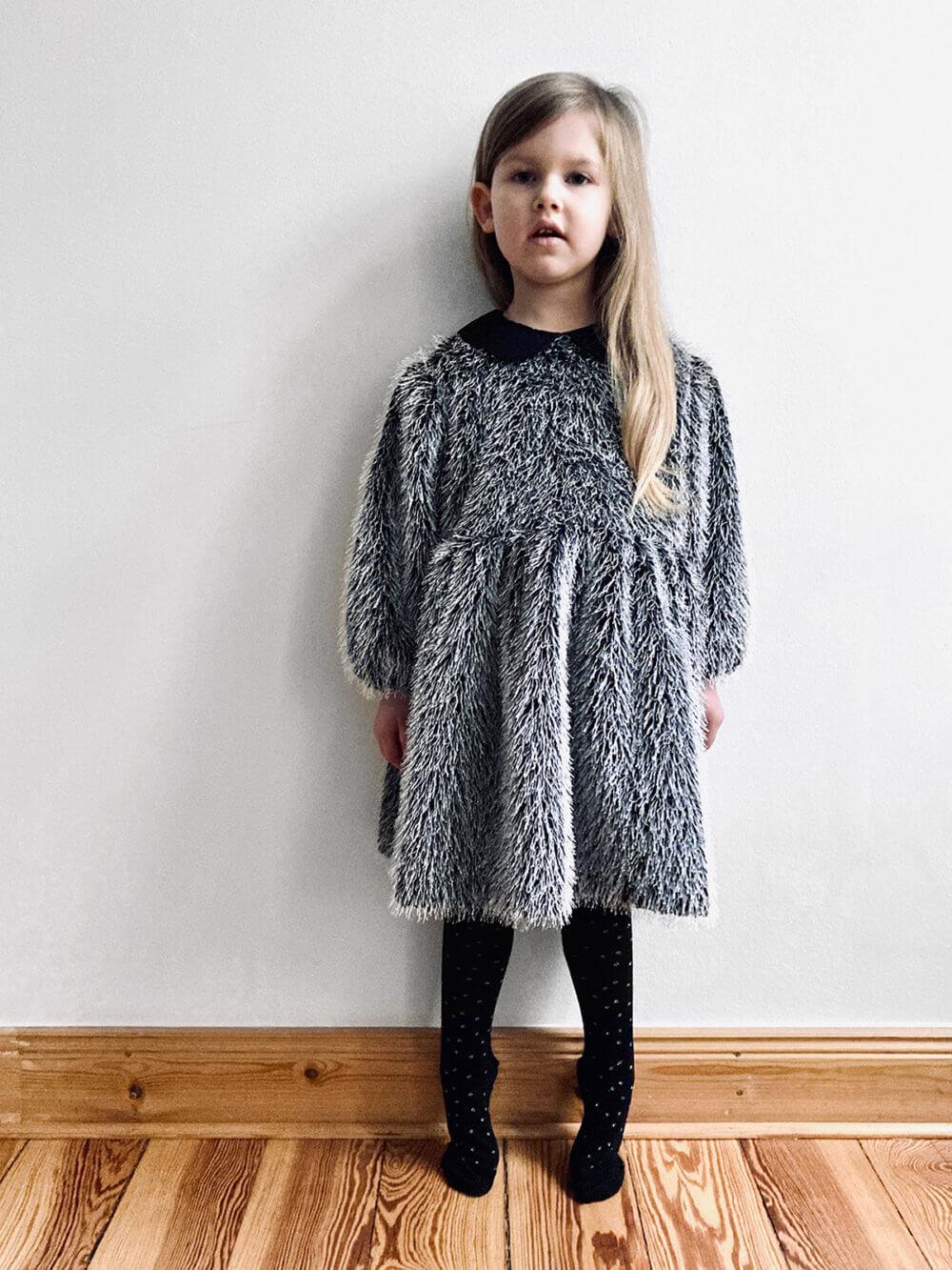 fringe party dress for kids studio